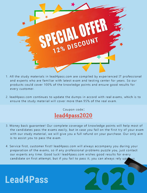 lead4pass coupon 2020