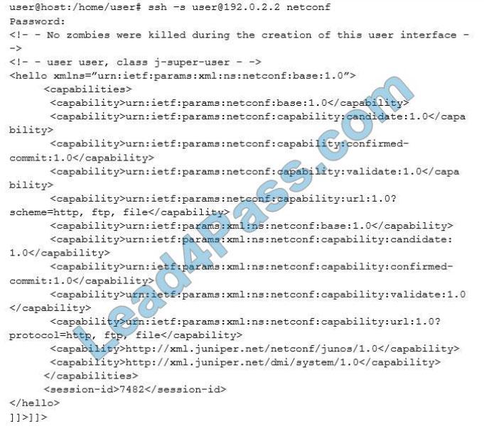 examvcesoftware jn0-420 q7